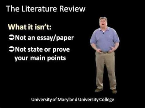 What Is The Purpose Of Literature Review In The Life Of